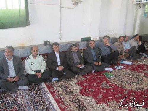 نشست دهیاران بخش نوکنده برگزار شد