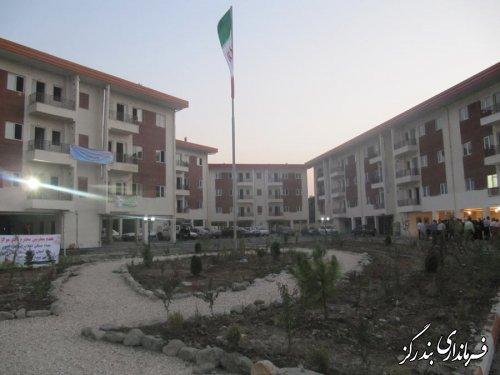 پروژه 108 واحدی مسکن مهر بندرگز به بهره برداری رسید
