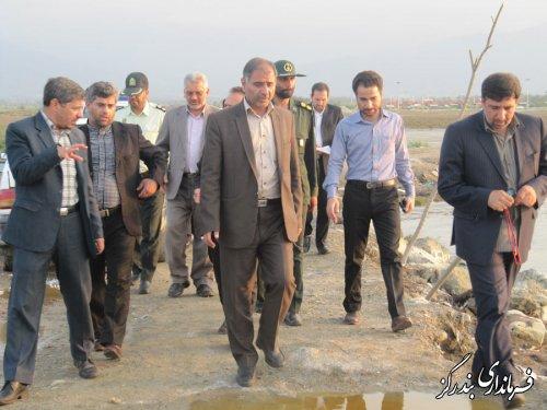 بازدید بازرسان وزارت کشور از سواحل شهرستان بندرگز