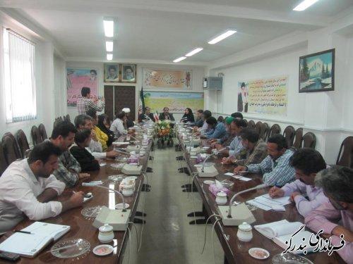 دومین جلسه مطلعین محلی سرشماری عمومی کشاورزی در بندرگز برگزار شد