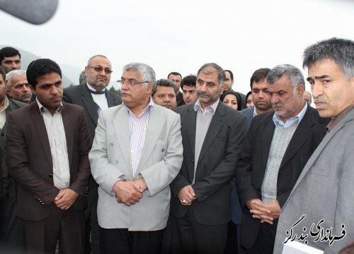 وزیر جهاد کشاورزی از پروژه منابع طبیعی و آبخیزداری در بندرگز بازدید کرد