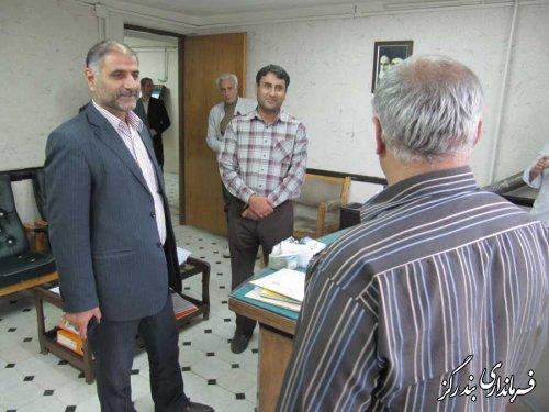 بازدید سرزده فرماندار از امور توزیع نیروی برق بندرگز