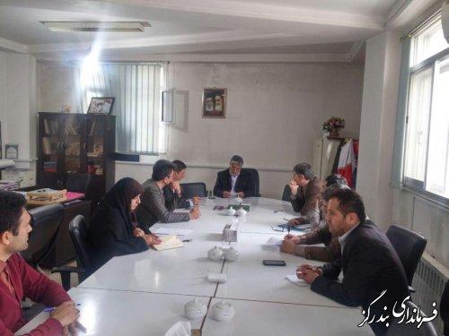 دهمین  جلسه ستاد انتخابات شهرستان بندرگز برگزار شد