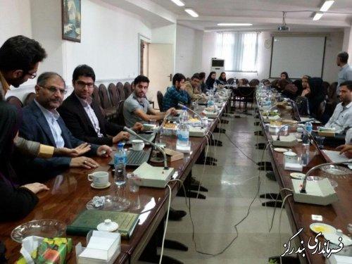 اجرای مانور انتخاباتی با حضور کاربران در شهرستان بندرگز