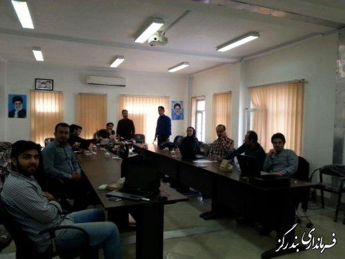 اولین مانور انتخابات رایانه ای در نوکنده برگزار شد