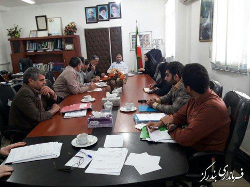 یازدهمین جلسه ستاد انتخابات شهرستان بندرگز برگزار شد