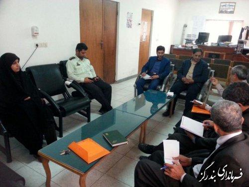 جلسه کمیته حقوقی ستاد انتخابات بخش نوکند ه برگزارشد