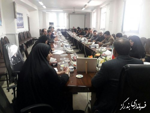 ششمین کارگروه اجتماعی و فرهنگی شهرستان در فرمانداری برگزار شد