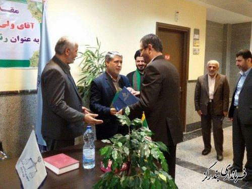 مراسم  تودیع و معارفه رئیس دادگستری شهرستان بندرگز برگزار شد