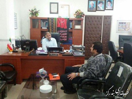 برگزاری ملاقات مردمی فرماندار شهرستان بندرگز با تعدادی از شهروندان