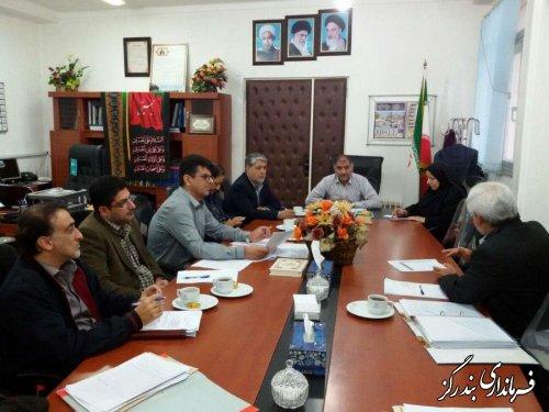برگزاری جلسه کارگروه تخصصی  اشتغال در شهرستان بندرگز