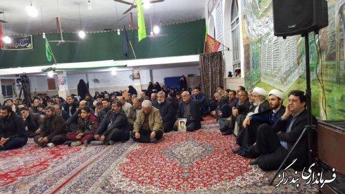 چهاردهمین برنامه فرهنگی تبلیغی محله شهید در بندرگز برگزار شد