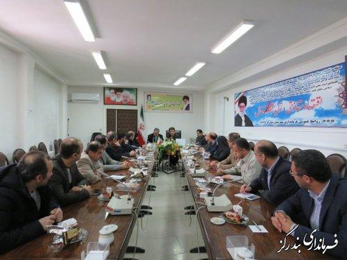 هشتمین جلسه کارگروه سلامت و امنیت غذایی بندرگز برگزار شد