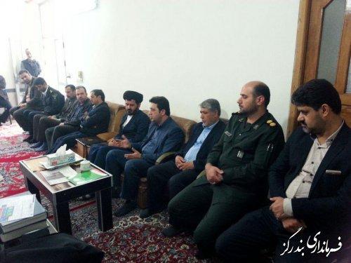دیدار نوروزی فرماندار و مدیران اجرایی بندرگز با امام جمعه