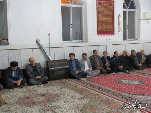 مراسم سالروز شهادت امام موسی کاظم (ع) در بندرگز برگزار شد