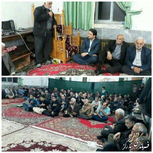 مراسم سالگرد شهید سیدابوطالب موسوی در روستای سرمحله برگزار شد