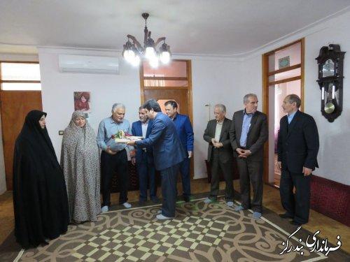 دیدار فرماندار بندرگز و مدیر صندوق بازنشستگی گلستان با بازنشستگان فرهنگی در بندرگز