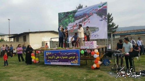 دومین جشنواره هلی (آلوچه) در نوکنده برگزار شد