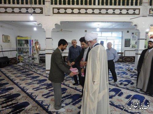 مساجد شهرستان بندرگز غبارروبی و عطرافشانی شد