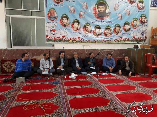 مشکلات و مطالبات روستای لیوان غربی با حضور فرماندار بندرگز مورد بررسی قرار گرفت