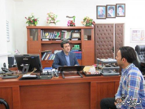 فرماندار بندرگز به صورت چهره به چهره با شهروندان دیدار کرد