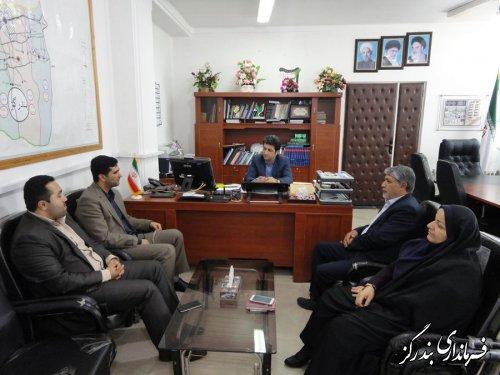 دیدار رییس دانشگاه آزاد اسلامی واحد بندرگز با فرماندار شهرستان