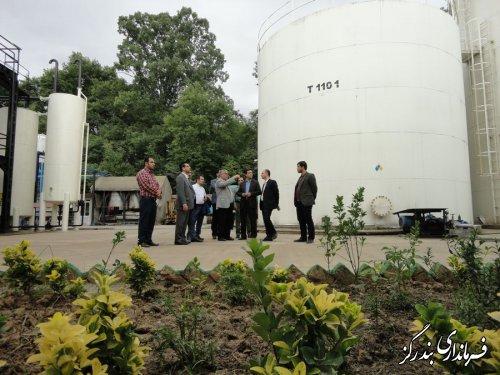 بازدید فرماندار بندرگز از واحد تولیدی صنعتی مهتاب موتور