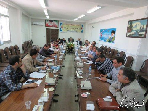 دومین جلسه شورای هماهنگی مدیریت بحران بندرگز برگزار شد