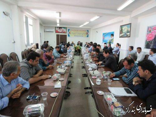مراسم گرامیداشت روز شهرداری و دهیاری در بندرگز برگزار شد