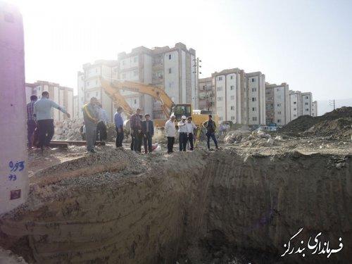 آغاز عملیات زیرگذر راه آهن ضلع غربی شهر بندرگز
