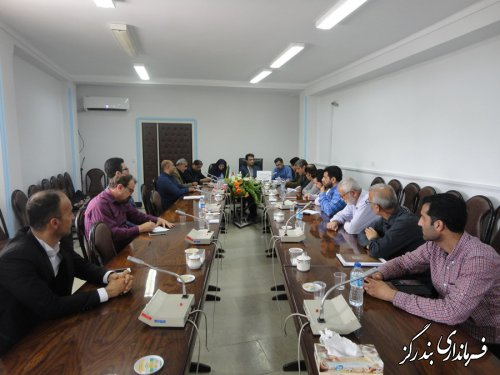 هشتمین جلسه کارگروه تنظیم بازار بندرگز برگزار شد