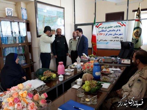 فرماندار بندرگز از اقدام سریع نیروی انتظامی در دستگیری عامل قتل اخیر در نوکنده تقدیر کرد