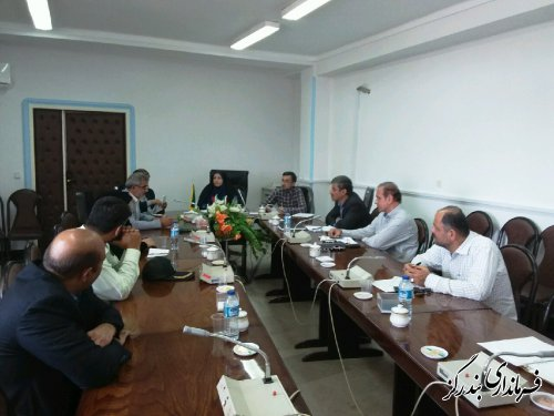 چهارمین جلسه کمیسیون هماهنگی و نظارت بر مبارزه با قاچاق کالا و ارز بندرگز برگزار شد