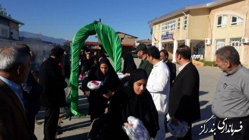 50 نفر از دانش آموزان بندرگزی به اردوی راهیان نور اعزام شدند