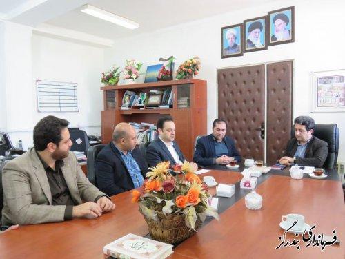 مدیرکل تعزیرات حکومتی گلستان با فرماندار بندرگز دیدار و گفت و گو کرد