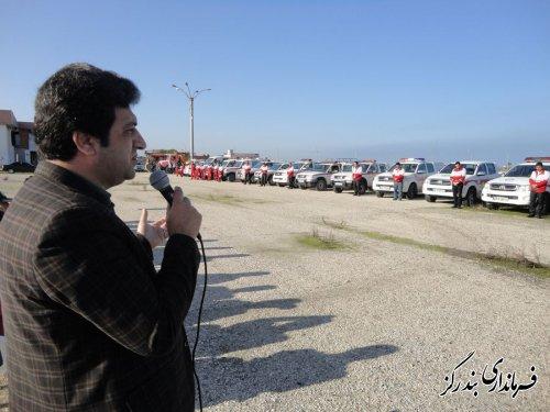 طرح ملی امداد و نجات زمستانه در هلال احمر گلستان آغاز شد