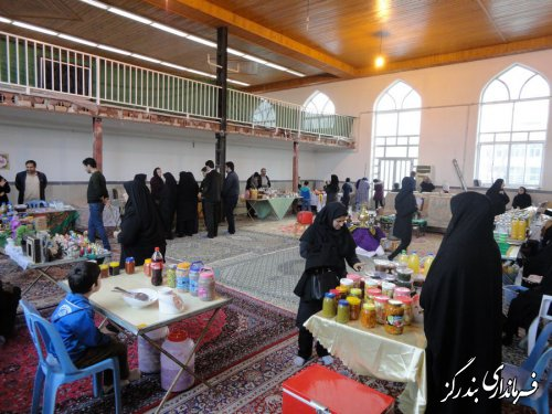نمایشگاه ویژه شب یلدا در روستای گزغربی گشایش یافت