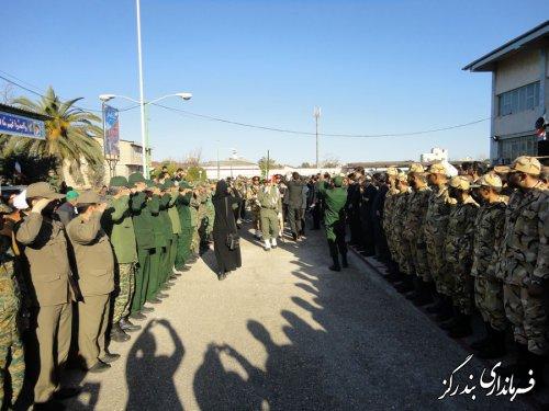 پیکر شهید سانحه هوایی بوئینگ 707  ارتش در بندرگز تشییع شد