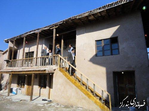 بازدید فرماندار بندرگز از اقامتگاه های بوم گردی در روستاها