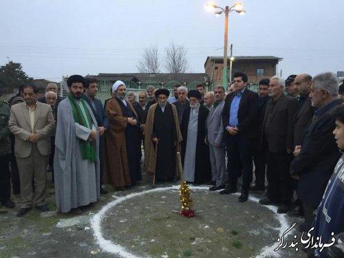 کلنگ احداث مسجد جامع روستای جفاکنده به زمین خورد