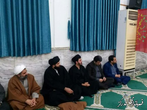 مردم شهرستان بندرگز در سالگرد شهادت حضرت فاطمه (س) عزاداری کردند