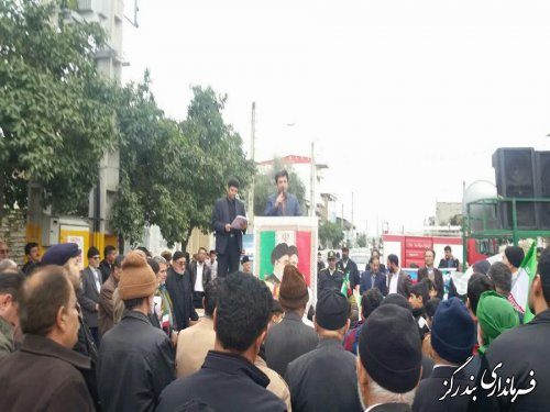 حضور گسترده مردم در راهپیمایی 22 بهمن نشانه یکپارچگی ملت است