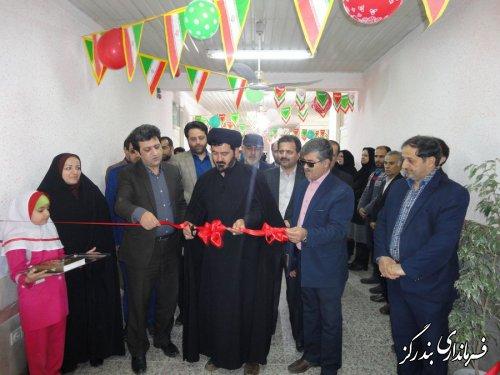 مدرسه 3 کلاسه خیری در روستای گزغربی افتتاح شد