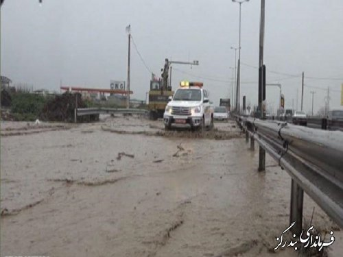 سیل و طغیان رودخانه ها به بخش های مختلف بندرگز خسارت زد