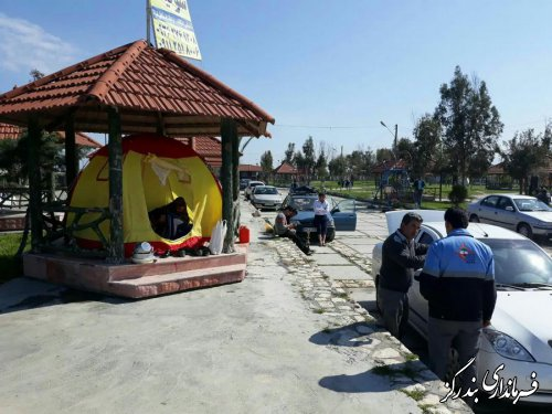 شهرستان بندرگز آماده پذیرایی از مسافران و میهمانان نوروزی است