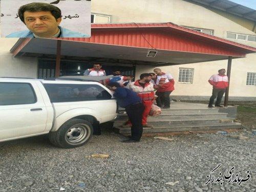 تاکنون 24 هزاز قرص نان از بندرگز به مناطق سیل زده گلستان ارسال شد