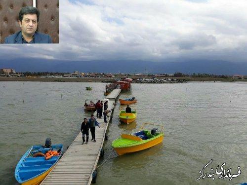 بیش از نهصد هزار مسافر و گردشگر نوروزی وارد بندرگز شدند