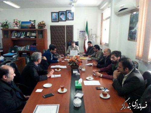 چهارمین نشست شورای هماهنگی مدیریت بحران بندرگز برگزار شد