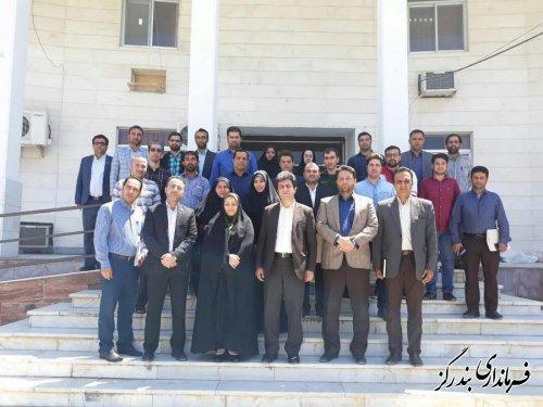 آیین گرامیداشت روز ارتباطات و روابط عمومی در بندرگز