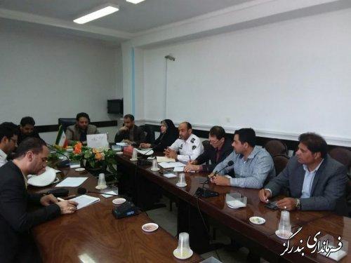 معاون هماهنگی امور عمرانی فرمانداری بندرگز بر اصلاح سرعت گیرها در شهرستان تاکید کرد